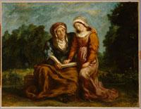 L'education de la Vierge 26004018609| 写真素材・ストックフォト・画像・イラスト素材|アマナイメージズ