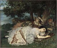 Les demoiselles du bord de la Seine