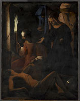 Saint Sebastien soigne par Sainte Irene/���C���l�ɉ����