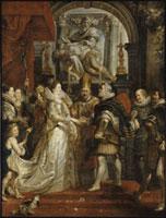 Le Mariage par procuration de Marie de Medicis et d�fHenri