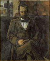 Portrait d'Ambroise Vollard (1865-1939),marchand de tablea