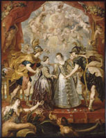 L'Echange des deux princesses de France et d'Espagne sur l 26004018965| 写真素材・ストックフォト・画像・イラスト素材|アマナイメージズ