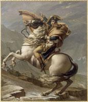 Le Premier Consul franchissant les Alpes au col du Grand S