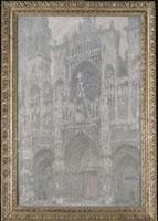 Cathedrale de Rouen,le portail,temps gris,harmonie grise 26004018976| 写真素材・ストックフォト・画像・イラスト素材|アマナイメージズ