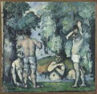 Baigneurs./水浴の男たち