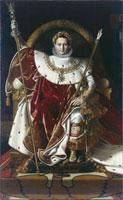 Napoleon Ier sur le trone imperial ou Sa majeste l'empereu