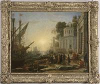 Le Debarquement de Cleopatre a Tarse 26004018991| 写真素材・ストックフォト・画像・イラスト素材|アマナイメージズ