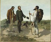 """La rencontre ou """"Bonjour Monsieur Courbet"""""""
