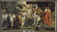 Le Couronnement de Marie de Medicis a Saint-Denis�Cle 13 ma