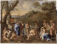 Saint Jean baptisant le peuple 26004019010| 写真素材・ストックフォト・画像・イラスト素材|アマナイメージズ