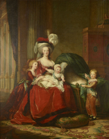Marie-Antoinette de Lorraine-Hasbourg,reine de France et s