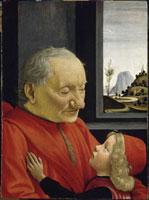 Portrait d'un vieillard et d'un jeune garcon/老人と少年の