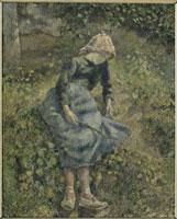 La bergere,dit aussi Jeune fille a la baguette ; paysanne