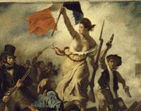 Le 28 juillet 1830 : la Liberte guidant le peuple/���O�𗦂�