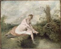 Diane au bain/ディアナの水浴