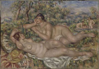 Les baigneuses/浴女たち(ニンフ)