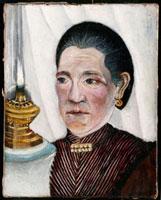 Portrait de la seconde femme de Rousseau