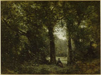 La clairiere, Souvenir de Ville d'Avray