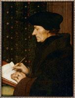 Erasme ecrivant (1467-1536)