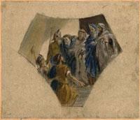 Etude pour Herodote interroge la Tradition des Mages