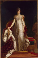 L�fimperatrice Marie-Louise en grand costume
