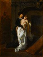 Romeo et Juliette devant le tombeau des Capulets