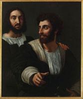 Raphael et son maitre d'arme