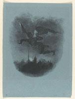 Mephistopheles dans les airs, 1er etat sur 5 ; 1828