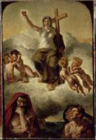 La Vierge du Sacre Coeur - esquisse peinte 26004019871| 写真素材・ストックフォト・画像・イラスト素材|アマナイメージズ