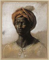 Negre au turban