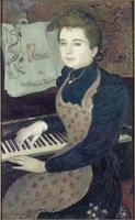 Marthe au piano ou Le menuet de la Princesse Maleine