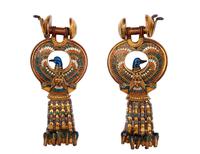 Boucles d'oreilles aux oiseaux bleus 26004020428| 写真素材・ストックフォト・画像・イラスト素材|アマナイメージズ