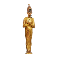Ouchebti du roi portant la couronne blanche 26004020473| 写真素材・ストックフォト・画像・イラスト素材|アマナイメージズ