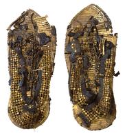 Chaussures a perles dorees de Toutankhamon 26004020481| 写真素材・ストックフォト・画像・イラスト素材|アマナイメージズ