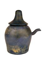 Vase a libation a couvercle de type nemset