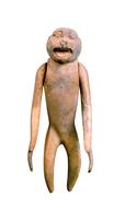 Figurine (jouet ?) en forme de petit singe aux bras articule 26004020520| 写真素材・ストックフォト・画像・イラスト素材|アマナイメージズ
