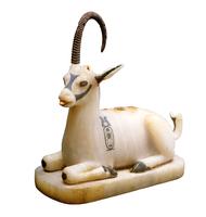 Vase a onguent en forme d'ibex