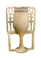 Vase a onguent en forme de calice a pied  26004020527| 写真素材・ストックフォト・画像・イラスト素材|アマナイメージズ