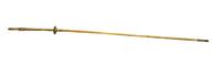 Baton de marche du roi en forme de tige de lotus