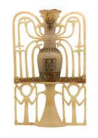 Grand vase bipartite a pied et haut col 26004020580| 写真素材・ストックフォト・画像・イラスト素材|アマナイメージズ