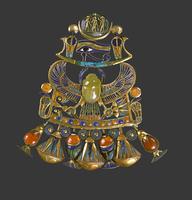 Pectoral composite avec un scarabee-oiseau 26004020592| 写真素材・ストックフォト・画像・イラスト素材|アマナイメージズ