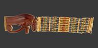 Bracelet souple orne d'un oeil oudjat 26004020603| 写真素材・ストックフォト・画像・イラスト素材|アマナイメージズ