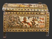 Grand coffret en bois stuque et peint de scenes militaires 26004020604| 写真素材・ストックフォト・画像・イラスト素材|アマナイメージズ
