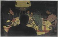 Le Diner, effet de lampe