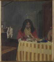 Portrait de madame Vallotton, nee Gabrielle Bernheim (1863-