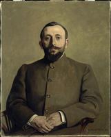 Portrait d'Alfred Athis, pseudonyme de l'ecrivain Alfred Na