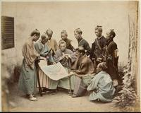 Yakounines (officiers charges de la police du port, de la douane et de la garde de Yokohama)