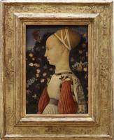 Portrait de Ginevra d'Este dit aussi Portrait de Marguerite de Gonzague