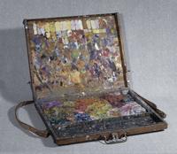 Palette de Pierre Bonnard