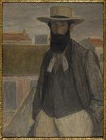 Portrait d'Aristide Maillol (1861-1944), sculpteur et peintre francais